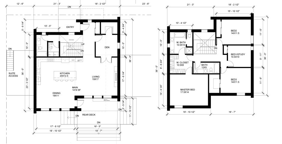 Passive House on modern home design plans