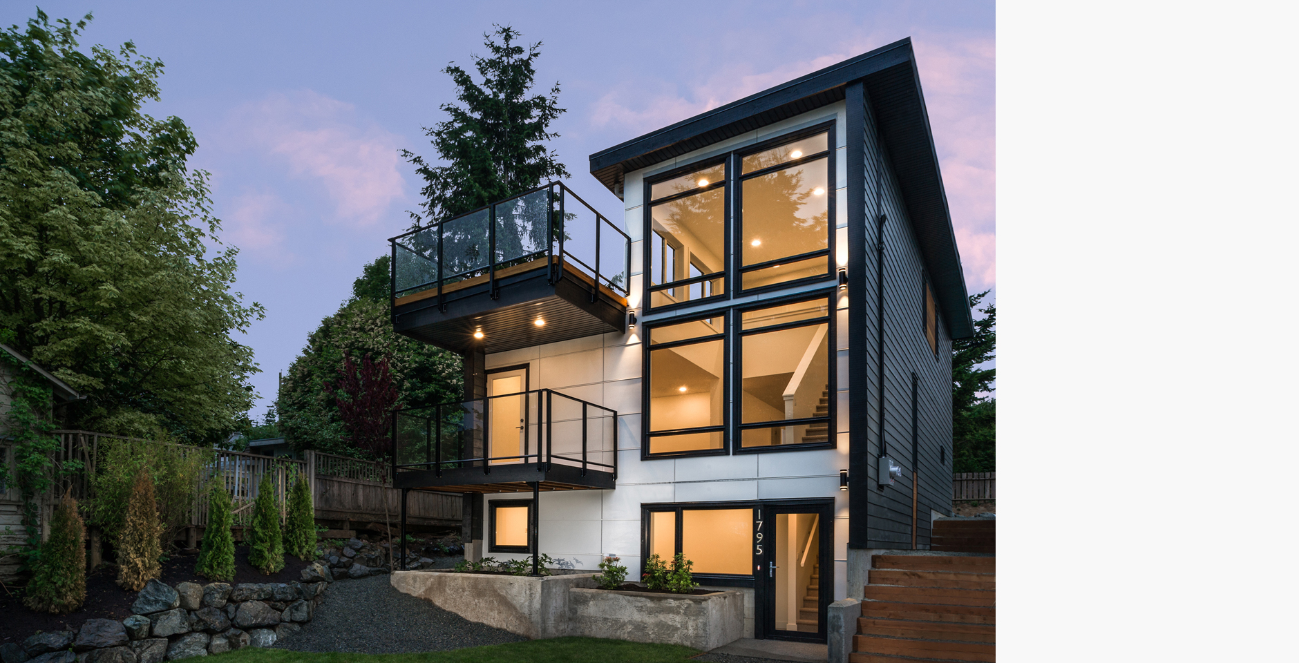 Sandrin leung architecture nanaimo spec house complete for Spec home