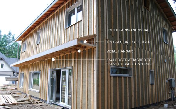 Langley Passive House Part 2 - Sunshade